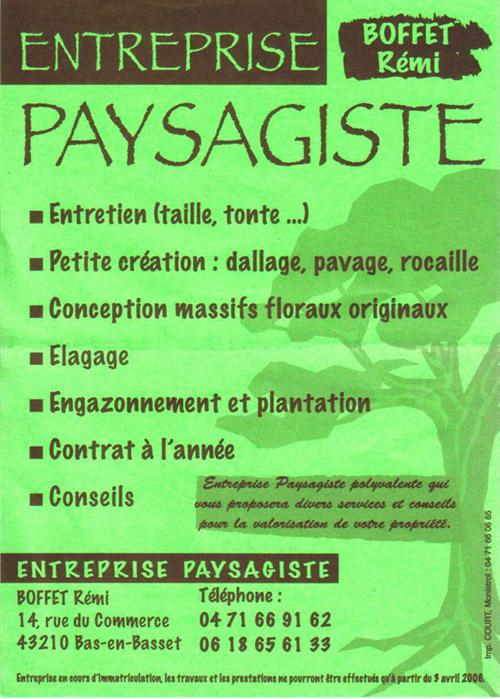 Entreprise paysagiste dinan id e inspirante for Flyer espace vert